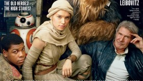 The cast of 'Star Wars: The Force Awakens' lands the June 2015 cover of Vanity Fair