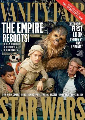 'Star Wars: The Force Awakens' Cast Covers Vanity Fair