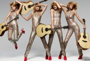 Taylor Swift Rocks Out for ELLE Cover Story