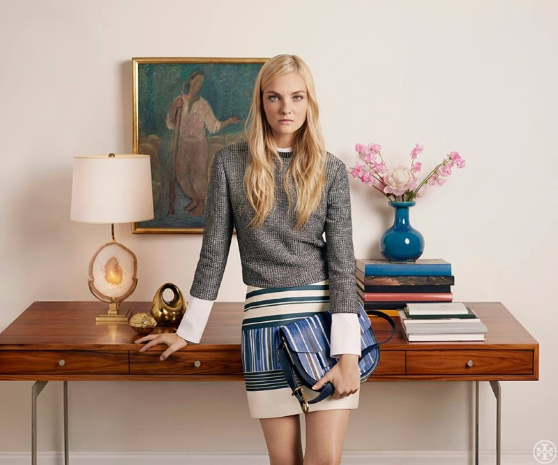 Tory Burch launches summer 2015 lookbook