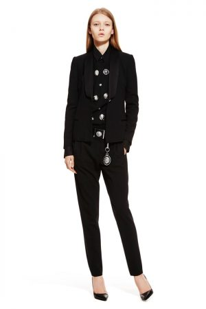 See Anthony Vaccarello's First Versus Versace Collection