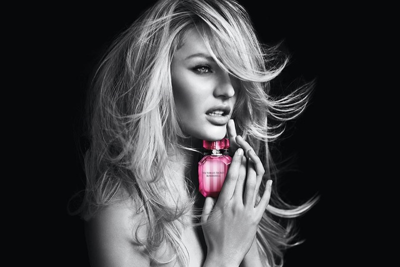 Candice Swanepoel stars in Victoria's Secret Bombshell fragrance