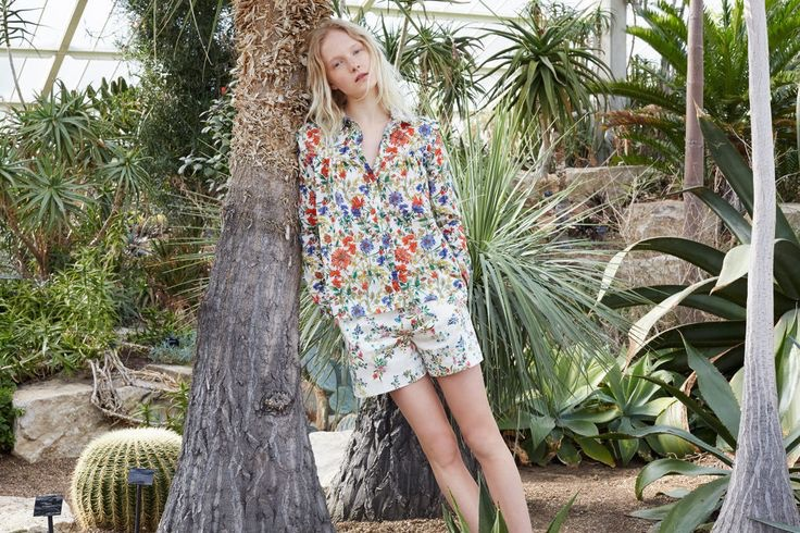 Zara spotlights prints in its summer lookbook