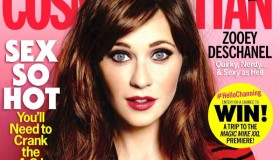 Zooey Deschanel graces the June 2015 cover of Cosmopolitan