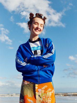 Angela Longton Channels 90s Raver Style for Glamour UK