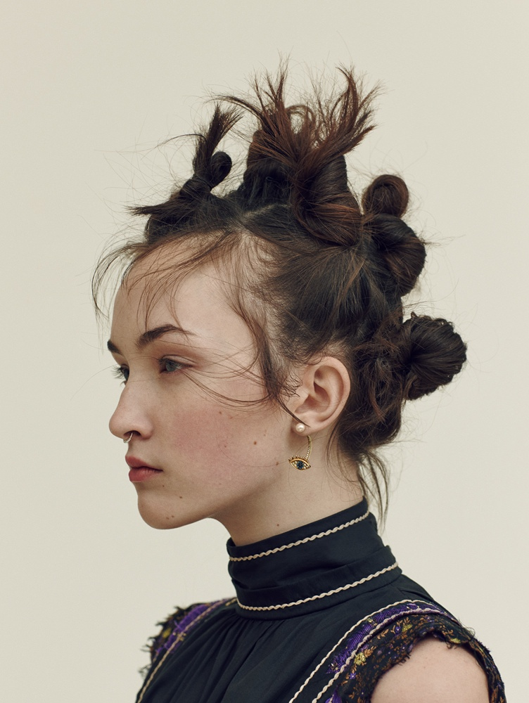 editorial hair styling angela longton channels 90s raver style for uk 4514