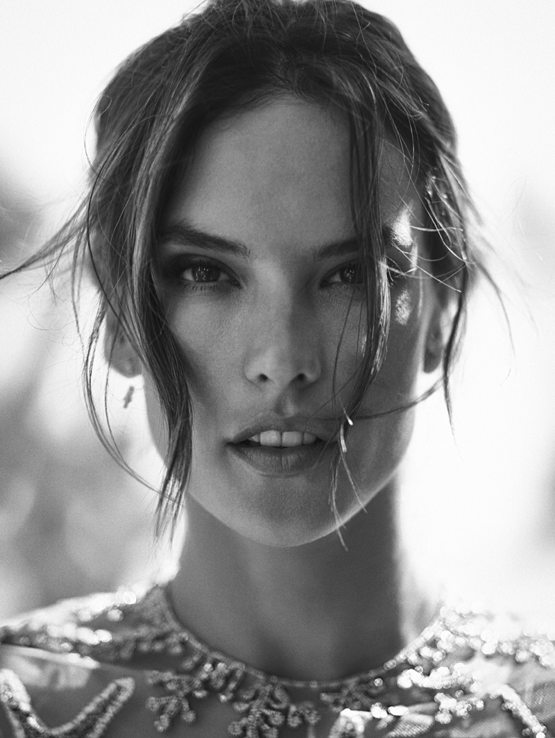 Alessandra Ambrosio Hits the Beach in Summer Style for L'Officiel ...