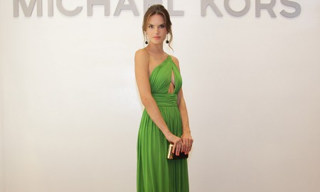Alessandra Ambrosio at Michael Kors Panama City store opening. Photo: Getty Images for Michael Kors
