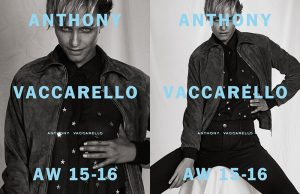 Amber Valletta Has an Intense Gaze in Anthony Vaccarello Fall '15 Campaign