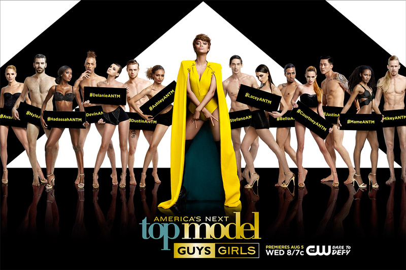 The cast of 'America's Next Top Model' cycle 22