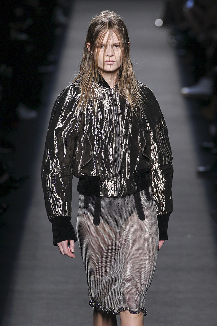 Anna Ewers at Alexander Wang's fall-winter 2015 runway show. Photo: FashionStock.com / Shutterstock.com