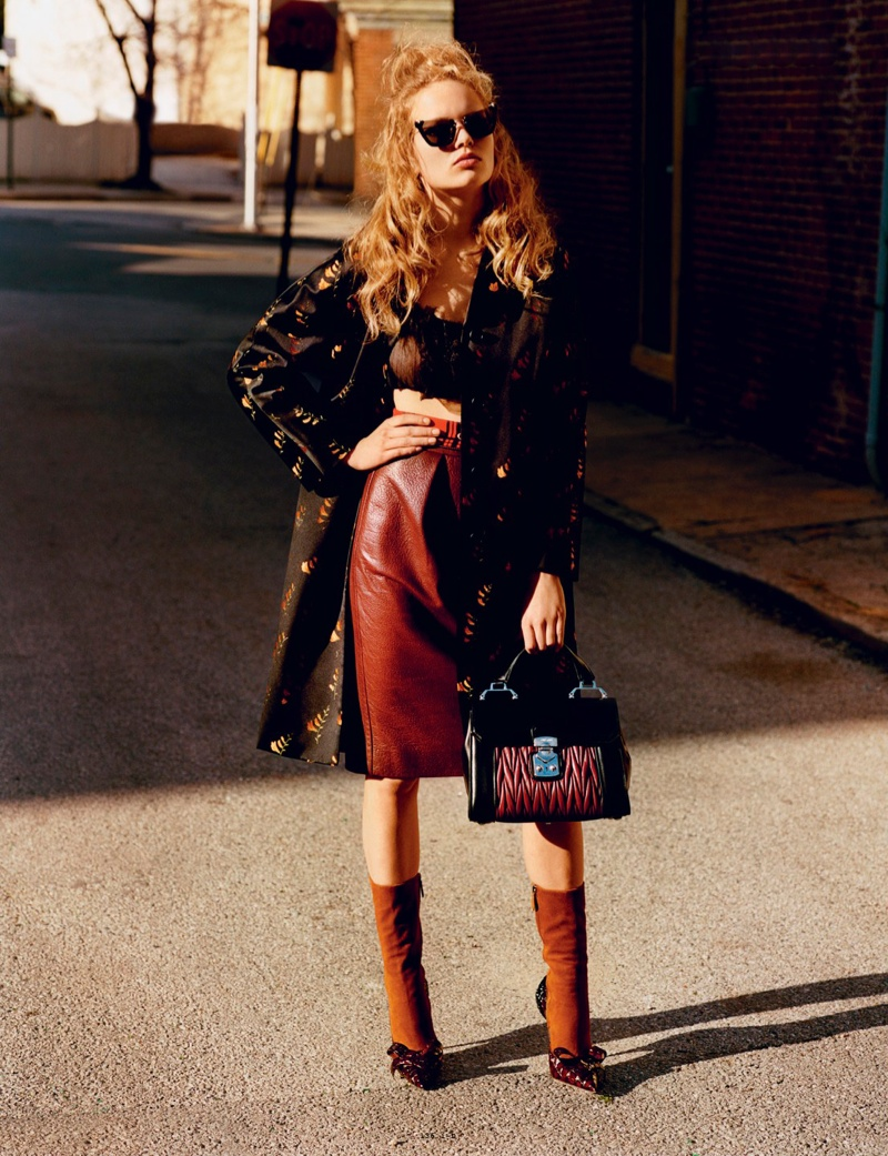 Anna Ewers Looks Divine in Retro-Inspired Style for i-D