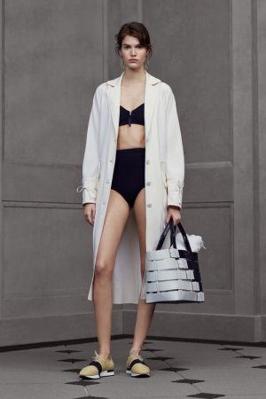 Balenciaga Does Swimsuits, Corsets for Resort 2016