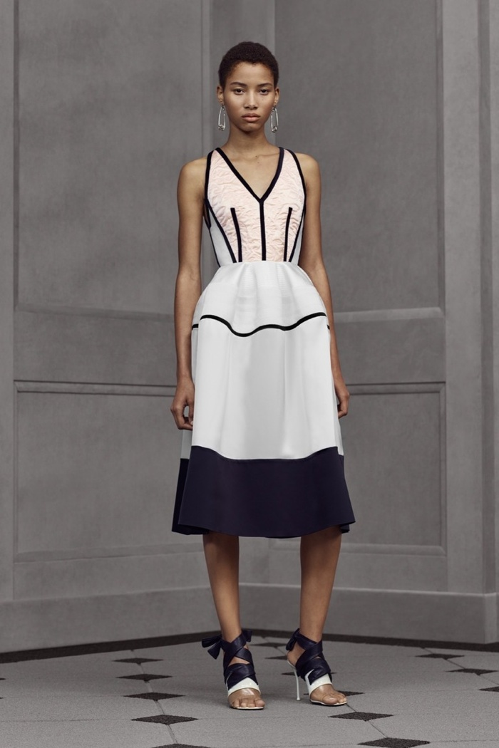 A look from Balenciaga's resort 2016 collection