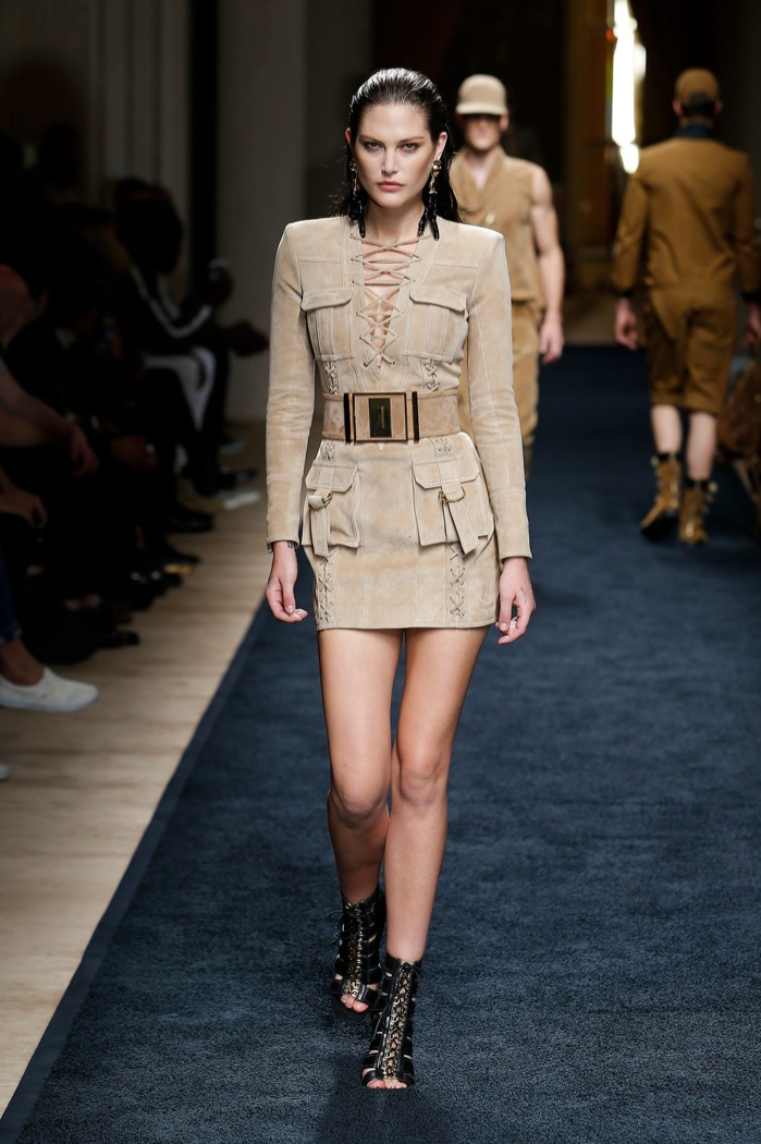 b20bfadf193 Catherine McNeil Catherine McNeil. The spring-summer 2016 menswear show  from Balmain featured twelve womenswear ...