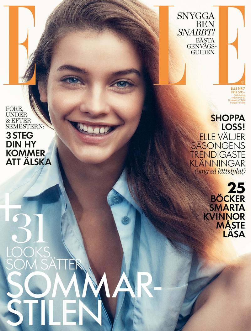 Barbara Palvin lands July 2015 cover of ELLE Sweden