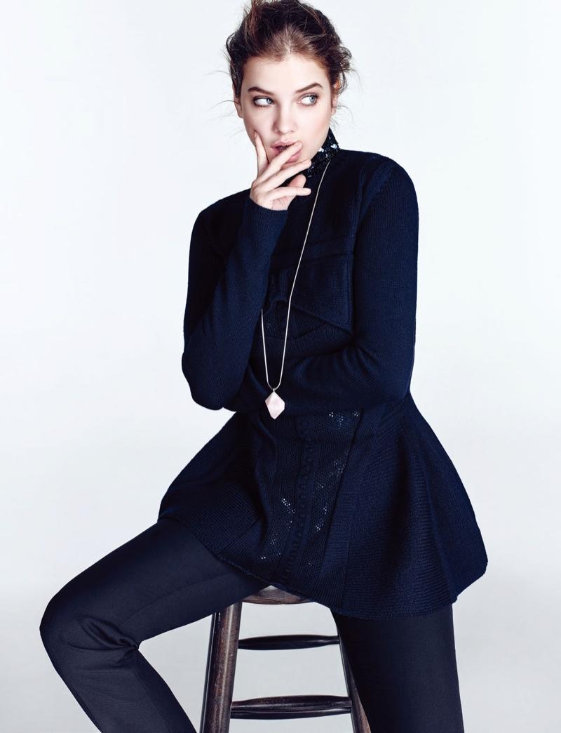 Barbara is a spokesmodel for L'Oreal Paris