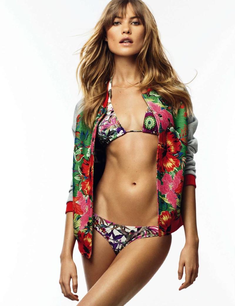 Behati Prinsloo Models Effortless Style for Cover Story of ELLE Spain