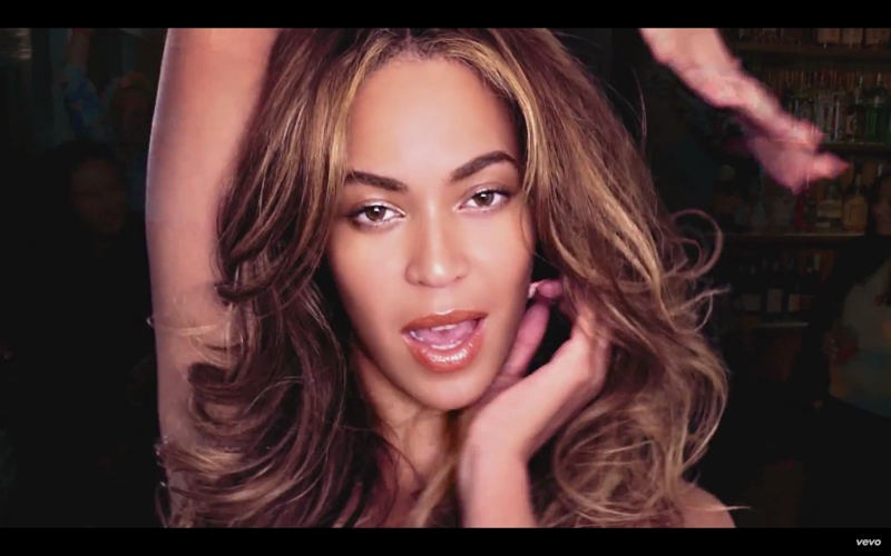 Beyonce in Bitch I'm Madonna music video
