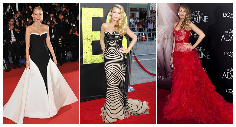 8a4434fbe Blake Lively has had some amazing looks through the years. Photo:  Shutterstock.com
