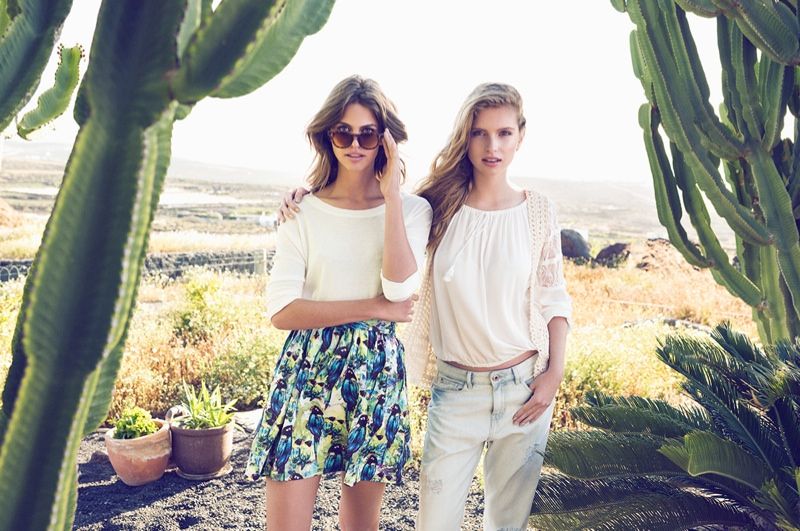 Lauren + Fleur Wear Sunny Style in SuiteBlanco's Summer '15 Campaign