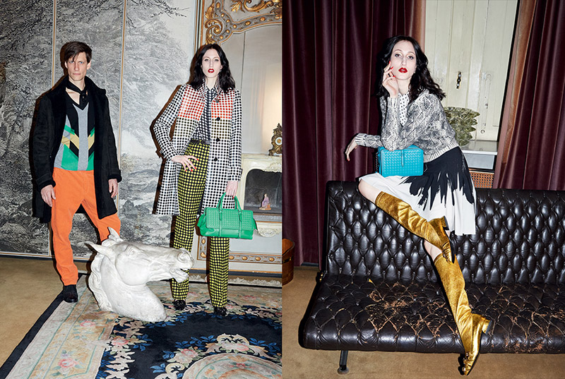 Anna Cleveland Stars in Bottega Veneta's Fall 2015 Ads