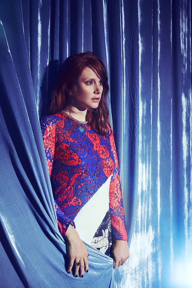 'Jurassic World' Star Bryce Dallas Howard Poses for Who What Wear