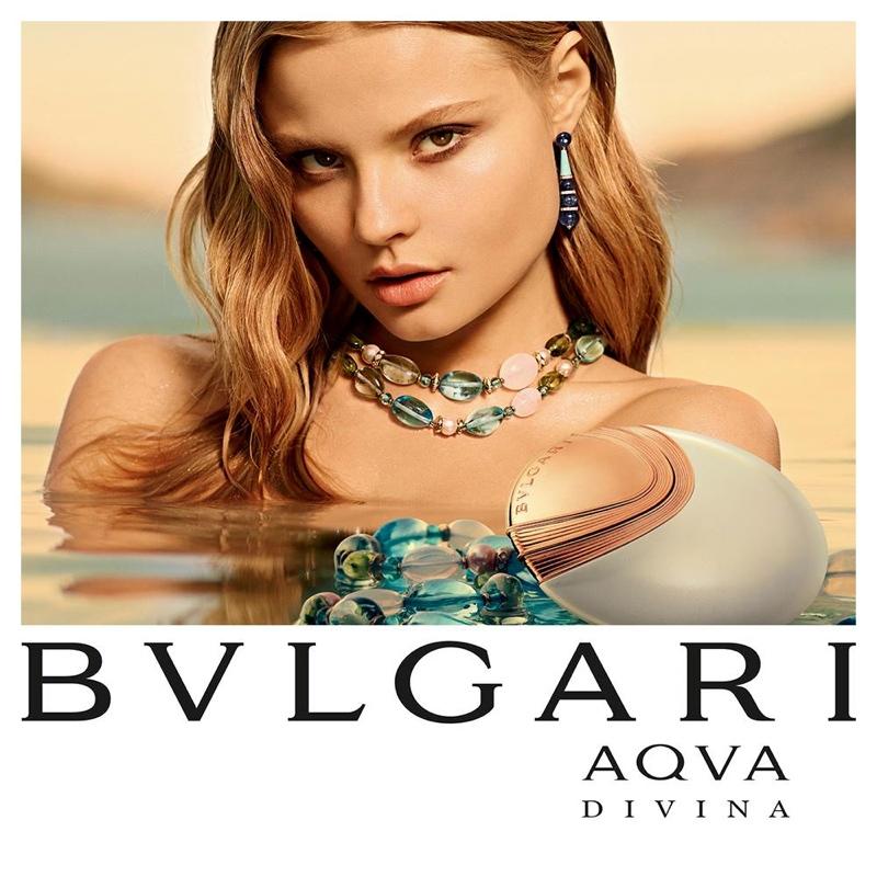 Magdalena Frackowiak Shines in Bulgari Ads