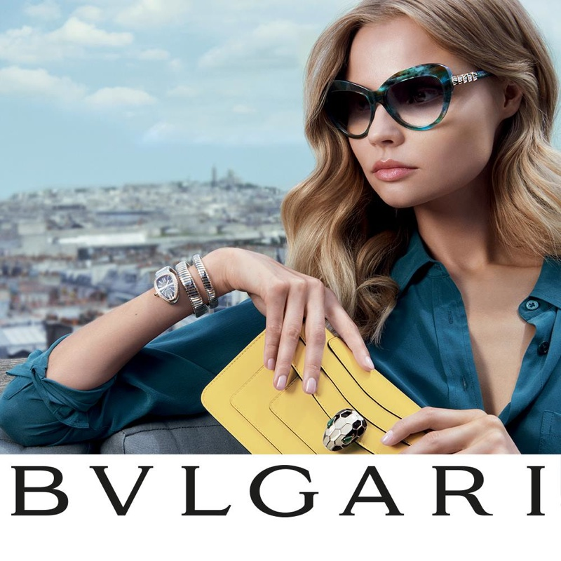 Bulgari Spring-Summer 2015 Campaign with Magdalena Frackowiak