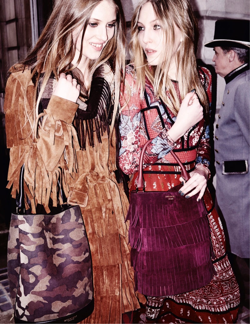 Burberry Releases Fall 2015 Campaign Featuring Rising Stars