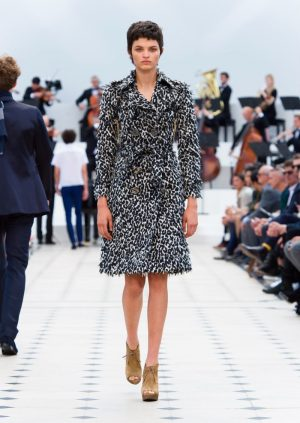 Pretty in Lace: Burberry Spring 2016 Dresses