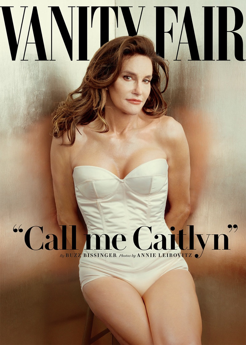 Caitlyn Jenner graces the July 2015 cover of Vanity Fair