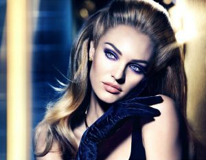 Candice Swanepoel Stuns in Smokey Eyed Look for Max Factor