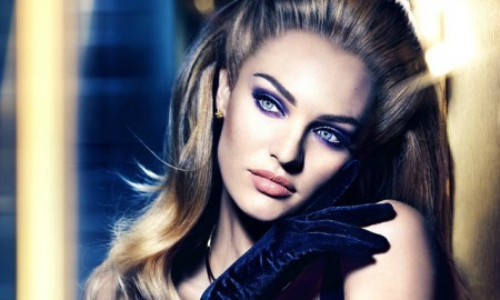 Candice Swanepoel for Max Factor Velvet Collection