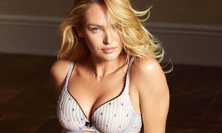 Candice Swanepoel stars in Victoria's Secret underwear shoot