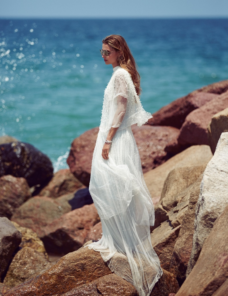 Carola Remer Models Seaside Style for Vogue Mexico by Jason Kim