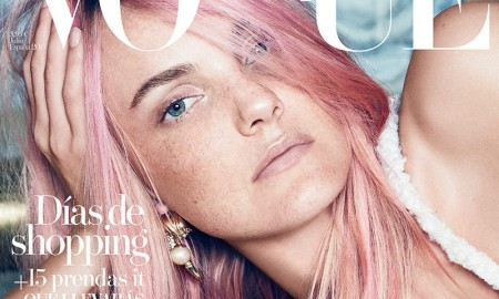 Caroline Trentini on Vogue Spain's June 2015 Cover
