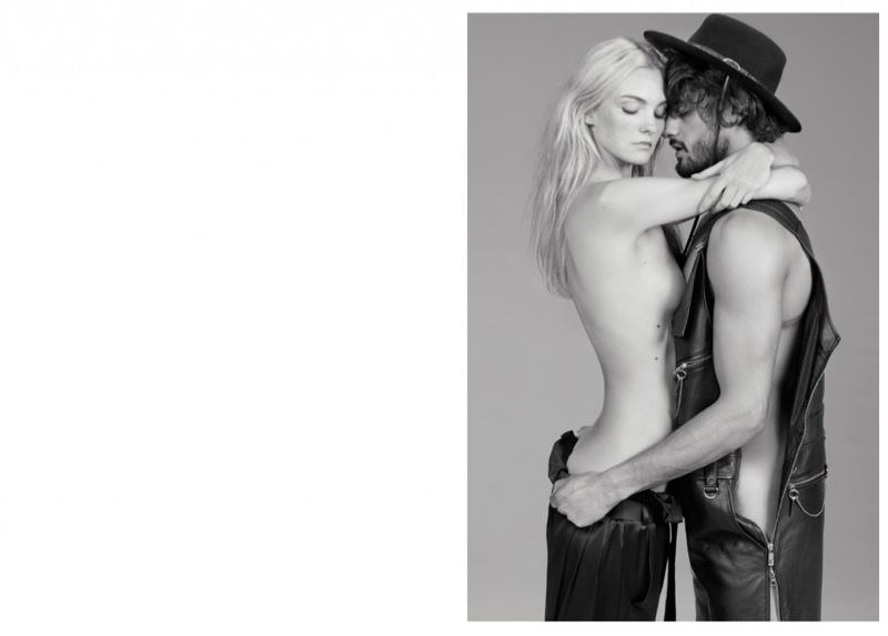 Caroline Trentini Strips Down for Sexy Made in Brazil Editorial