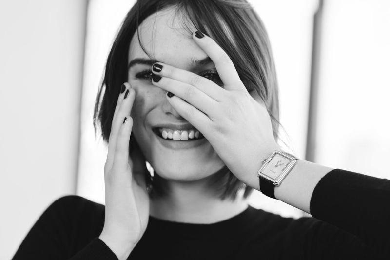 Sam Rollinson Wears Chanel's Boy.Friend Watch