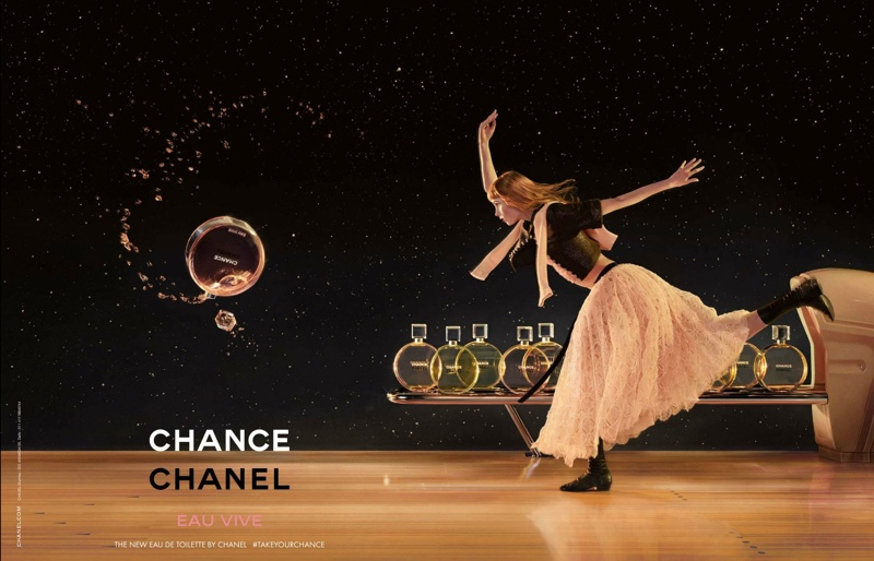 2019 year for girls- Chance chanel eau vive campaign