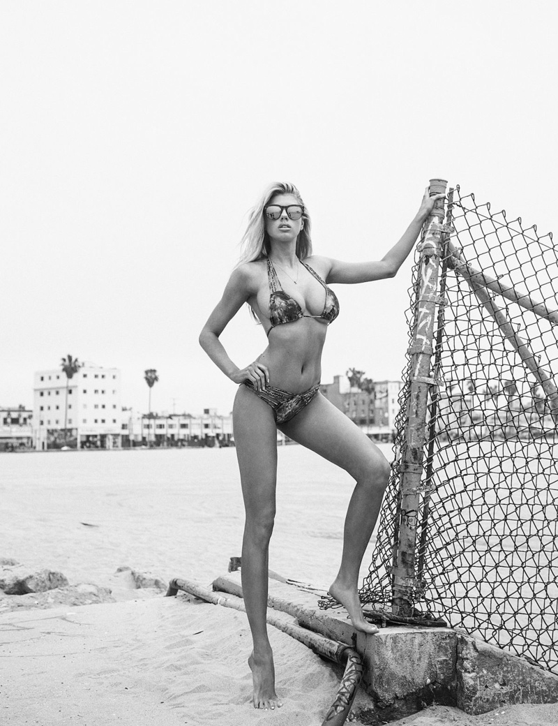 Charlotte McKinney is a 'Summer Bombshell' for Galore Cover Story