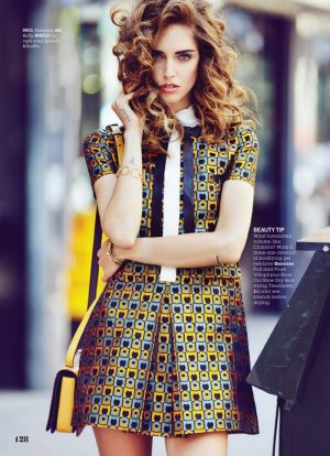 Chiara Ferragni Wears Street Style for Cosmopolitan Feature by Max Abadian