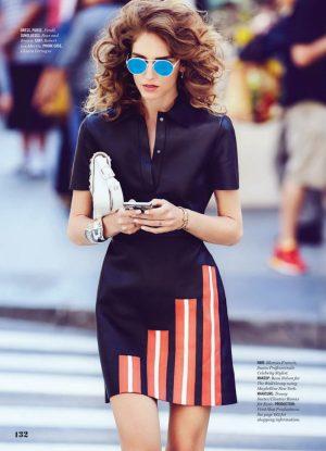 Chiara Ferragni Wears Street Style for Cosmopolitan Feature by Max Abadian