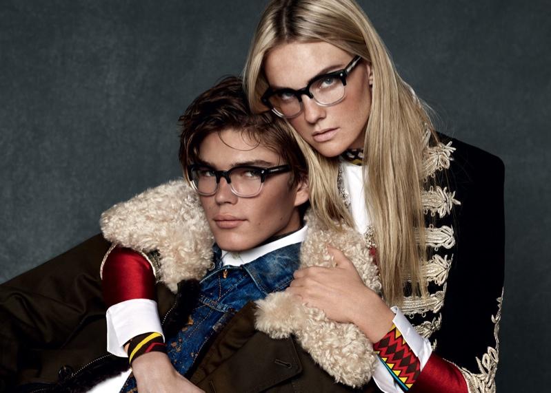 Caroline Trentini stars in DSquared2 fall-winter 2015 campaign