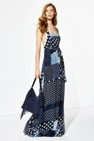 Diane von Furstenberg Offers Elegant Daytime Looks for Resort