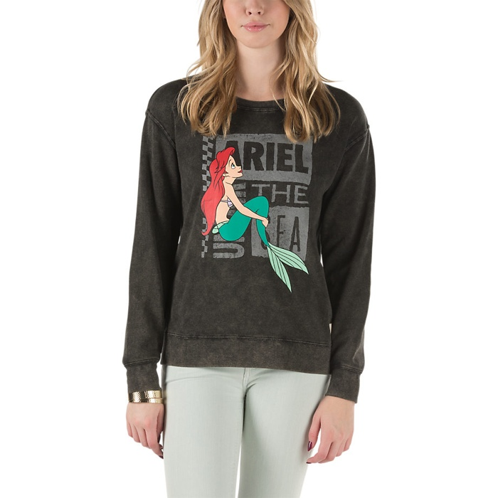 Disney x Vans Little Mermaid Sweater available for $54.50