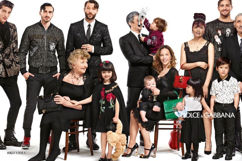 Dolce & Gabbana Celebrates Family for Fall 2015 Campaign