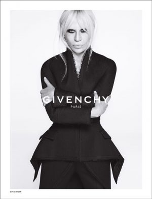"Donatella Versace Stars in Givenchy Fall 2015 Campaign, ""Believes in Breaking Rules"""