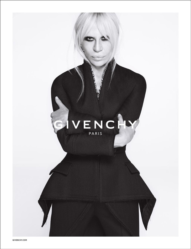 Donatella Versace for Givenchy fall-winter 2015 advertising campaign