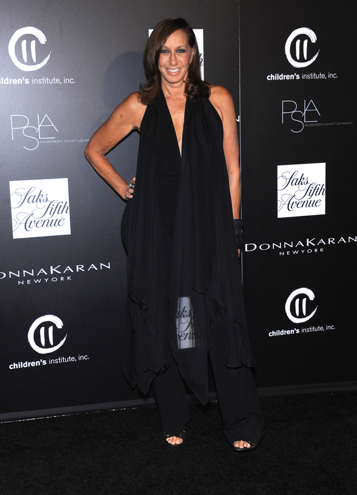Donna Karan Steps Down as Designer to Eponymous Label